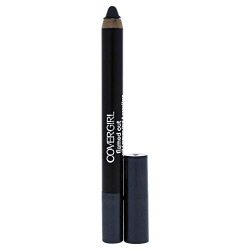 COVERGIRL Flamed Out Shadow Pencil Midnight Flame 370, .08 oz, Old Version (packaging may vary)