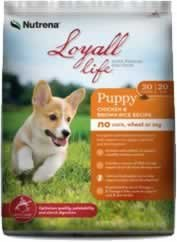 Loyall Life Puppy Chicken & Rice Formula 4 pounds For Sale