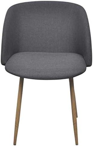 Xinglieu chaises de Salle à Manger 2pièces Gris foncé chaises de Salle à Manger Design chaises de Salle à Manger Modernes