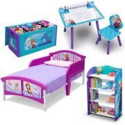Disney Frozen Bedroom in a Box with BONUS Toy Organizer for