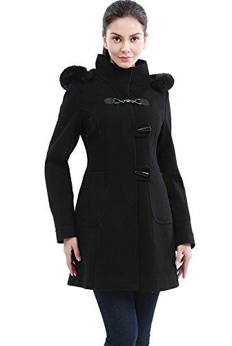Wool Melton Toggle Coat - 2