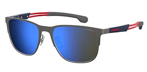 Carrera 4014/GS Sunglasses CA4014GS-0R80-XT-5818 - Semi Matte Dark Ruthenium Frame, Blue Sky Miror