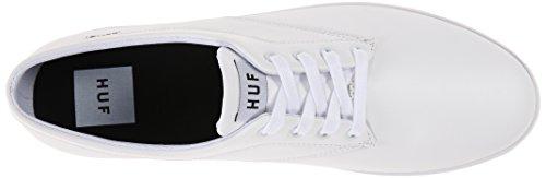 HUF Herren Sutter Skate Schuh Weißes Premium-Leder