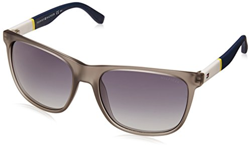 Tommy Hilfiger Thilfiger 1281/S 0FME Gray White HD gray gradient lens - Gradient Gray Lens Sunglasses