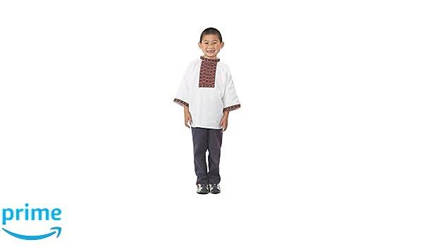 Amazon Com Children S Factory Fph329b Ethnic Russian Boy Costume