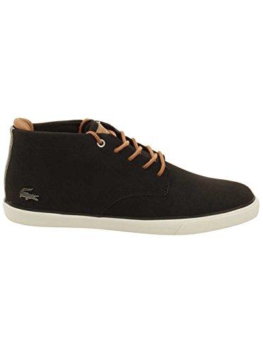 Lacoste Mens Esparre Chukka 118 1 Sneaker Nero / Marrone Chiaro