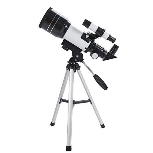 70mm Scope-Portable Refracting Telescope-Full Coated Glass Optical Mirror-Ideal Telescope for Beginners-Children Gift