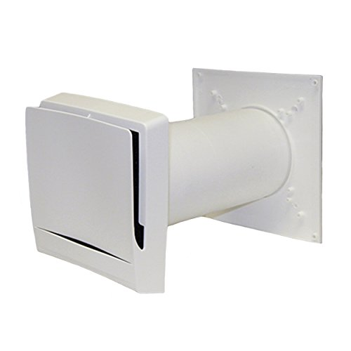 "Fresh Inlets Air - AIRLET TL98 Fresh Air Inlet (4""-8"" Sleeve) - Passive, Filtered Fresh Air Inlet for Make Up Air"