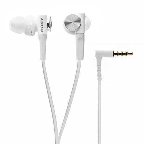 Sony Extra Bass MDR XB50AP in Ear Headphones with Mic  White