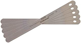 Precision Brand PBK-15 High Carbon Steel Flat Feeler Gage Stock .015 Inch Thick x 1/2 Inch x 12 Inch Flat, C1095 Hard Steel