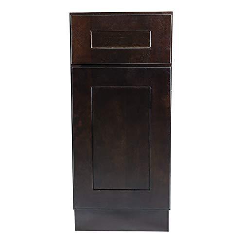 - Design House 561910 Brookings 12-Inch Base Cabinet, Espresso Shaker