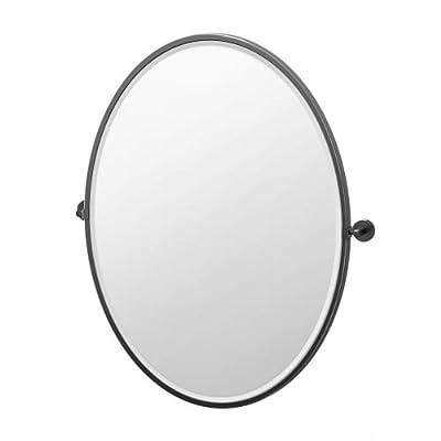 Gatco 4249 Latitude II Oval Mirror -  - bathroom-mirrors, bathroom-accessories, bathroom - 31OZSOKR2kL. SS400  -