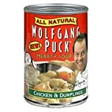 Wolfgang Puck Organic Chicken & Dumplings Soup, 14.5-Ounce Cans (Pack of 12) ( Value Bulk Multi-pack)
