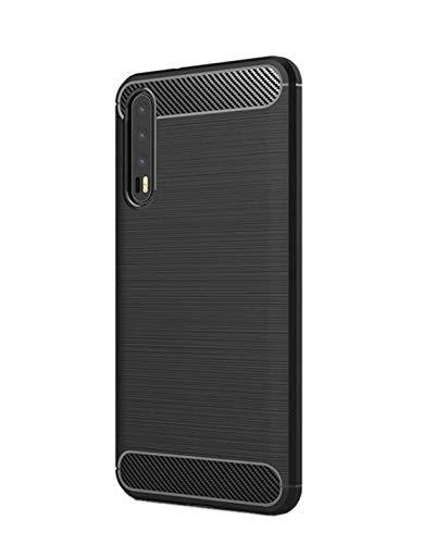 best deals on 9e2ae a3098 Designerz Hub Samsung Galaxy A7 (2018) Back Cover Hybrid Silicon Case -  Black