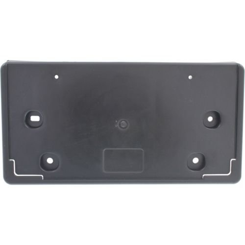 Perfect Fit Group REPC017324 - Cruze Front License Plate Bracket, Assembly, Textured Black, Eco Model