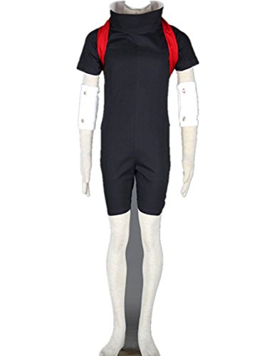 [Love Anime Ninja Shinobi Cosplay Costume-Uchiha Sasuke 2nd] (Naruto Cosplay Costumes Amazon)