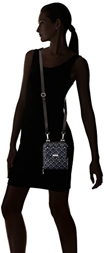 Print Rfid Baggallini Crossbody Black Passport Travel Diamond wRxdHqFYx