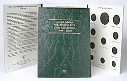 Littleton Millennium Type Set Coin Folder LCF29