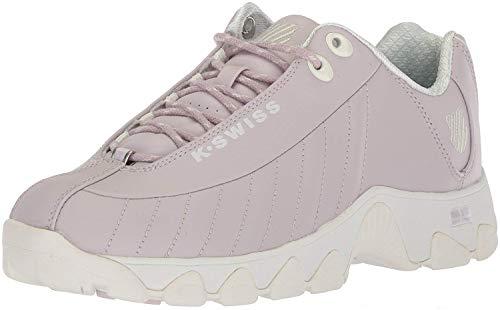 K-Swiss Women's ST329 CMF Sneaker, Gray Lilac/Marshmallow, 8 M US