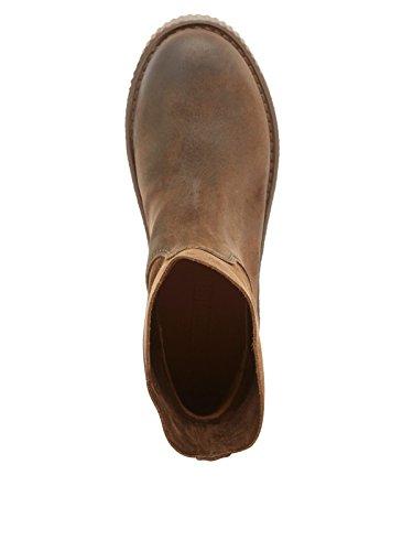 Shabbies Signore Amsterdam Scivolare Boots Brown (marrone Scuro)