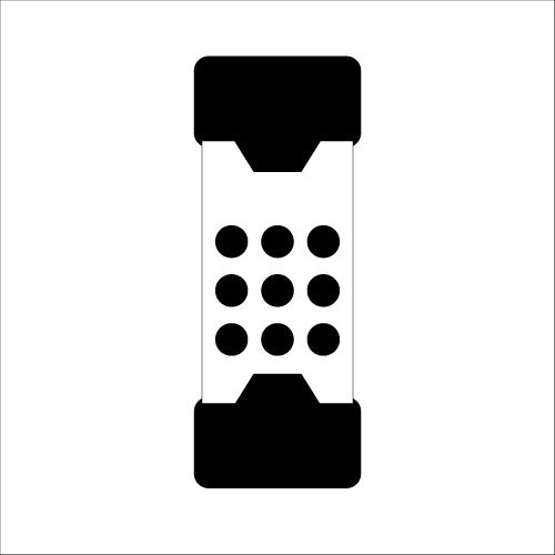 3408030 Drop MalletsNon-Rebound 30mm EH 3408 Halder