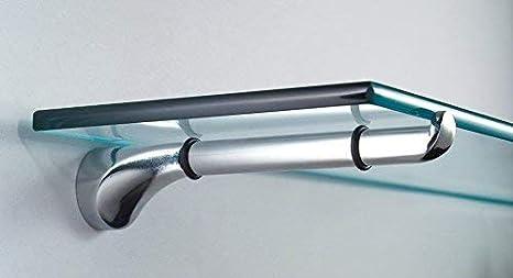Reggimensola Per Vetro.Reggimensola Per Vetro Art 514 Mm 200 Finitura Alluminio