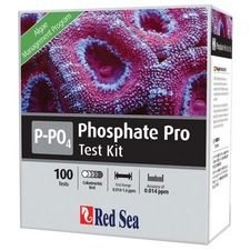 Red Sea Fish Pharm ARE21425 Saltwater Phosphate Pro Test Kit for Aquarium, 100 Tests