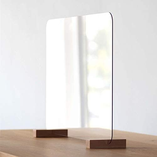Barrera protectora de plexiglás, Mampara de Protección, 75 x 50 cm ...