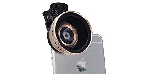 Universal Super Wide Angle Amp Macro Lens Kit For Phone
