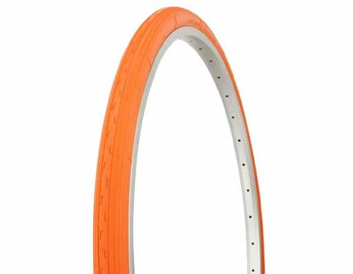 Tire Duro 26'' x 1 3/8'' Orange/Orange Side Wall HF-156A. bike tire, beach cruiser bike tire, cruiser bike tire, chopper bike tire by Lowrider