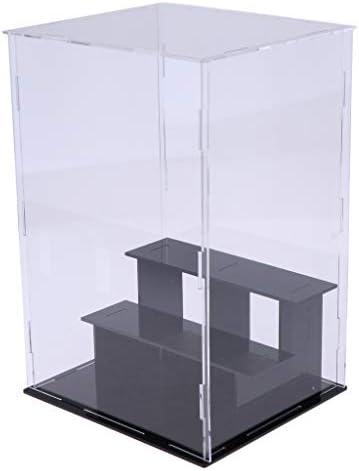 アクリル ディスプレイケース ダイキャスト車両 ディスプレイボックス 全5サイズ - 24×18×18cm