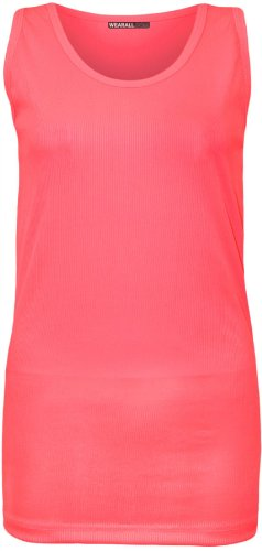 Xclusive Collection Damen Top Gr. 40, Rosa - Neon pink