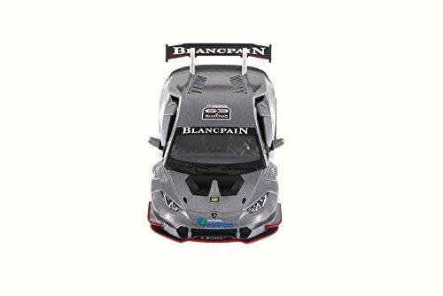 Lamborghini Huracan LP620-2 Super Trofeo, Gray - Kinsmart 5389D - 1/36 Scale Diecast Model Toy Car