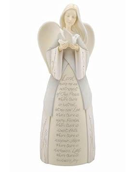Foundations by Enesco St. Francis Angel Figurine