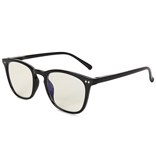 EYEGUARD Anti Blue Rays Glasses Unisex Spring Hinges Computer Reading Glasses, Anti Glare Eyeglasses,Readers UV Protection, - Eyeglasses Computer Screen For Protection