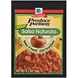 Produce Partners Salsa Naturala Mix Mild, 0.7-ounce (Pack of 6)