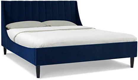 Sandy Wilson Home Marlowe Upholstered Platform Queen Bed