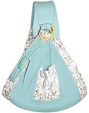 Baby Sling Carrier, Multifunctional Adjustable Breathable Stretchy Shoulder Strap Baby Sling Nursing Wrap
