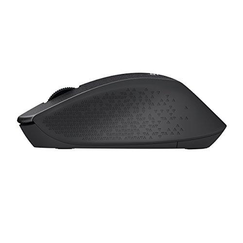 Logitech M330 Silent Plus Wireless Large Mouse – Black