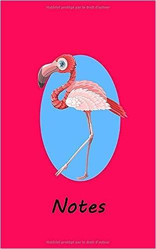 Amazoncom Notes Oiseau Flamant Rose Bloc Notes Carnet
