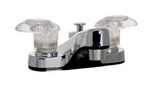 RV Trailer Camper Two Handle Lavatory Diverter Chrome PHOENIX R4403-I