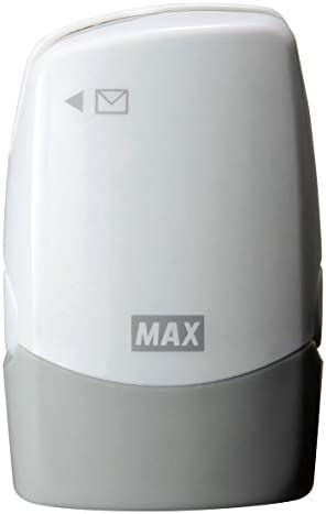 [해외]맥스 개인정보 보호 스탬프 레터 오프너 된 コロレッタ 화이트 SA-151RLW2 / Max Personal Information Protection Stamp with Letter Opener, Corloretta White SA-151RLW2