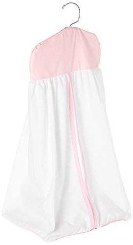 Baby Doll Bedding Forever Mine Junior Diaper Stacker, Pink