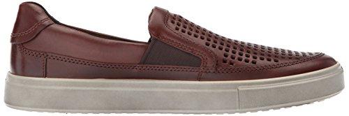 Ecco Heren Kyle Geperforeerde Slip Op Fashion Sneaker Zwart