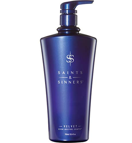 SAINTS & SINNERS VELVET DIVINE MOISTURE SHAMPOO (25.4oz)