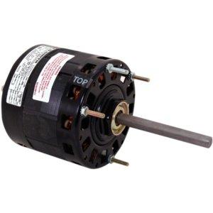 5 inch 3-Speed Single Shaft Open Fan/Blower Motor (230V, 1075 RPM, 2.0A) (3 Speed Single Blower)