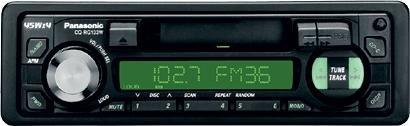 Panasnonic CQ-RG133W Cassette Tuner