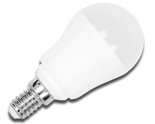 Aigostar Bombilla LED P45 de 7W, rosca pequeña y luz cálida E14: Amazon.es: Iluminación