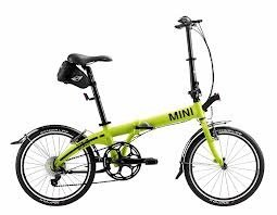 MINI Cooper Folding Bike Lime Color (Mini Folding Bike)