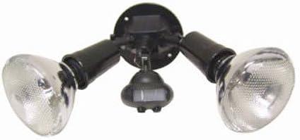 Cooper Lighting 110 Degree Motion Detector Floodlight, Black